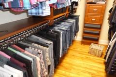 Pant storage