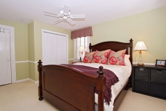 Inviting master bedroom