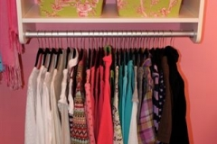 Girls Closet - go crazy with bright paint here