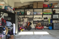 Park your car?  No problem with this organized garage.